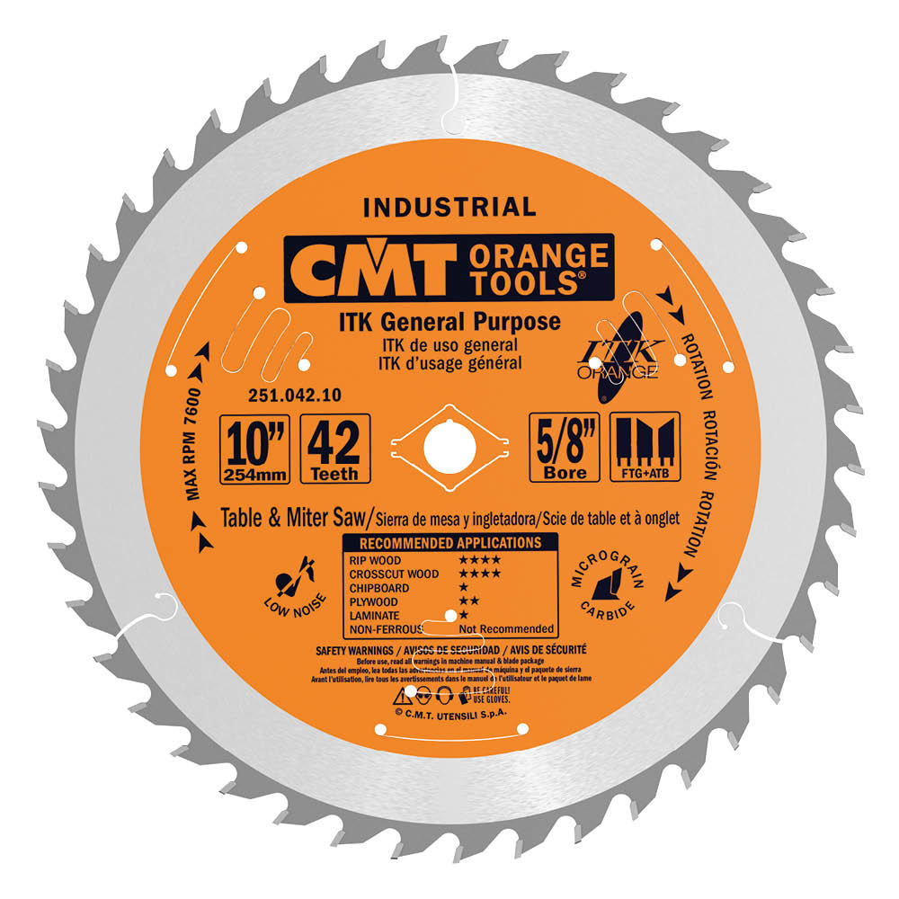 ITK general purpose circular saw blades