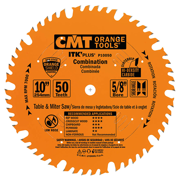 ITK Plus combination circular saw blade