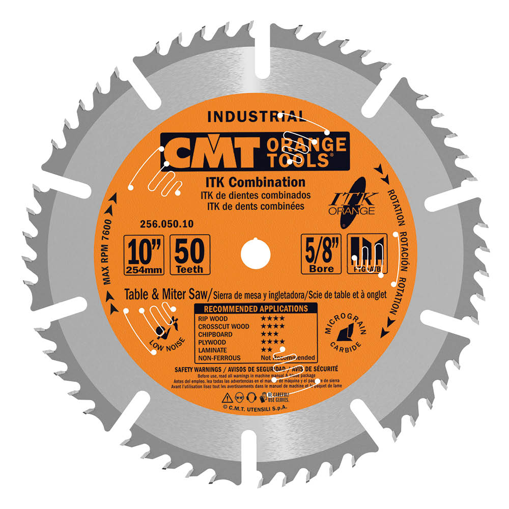 ITK combination circular saw blades