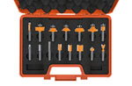 15 piece router bit sets