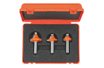 3 piece roundover router bit sets