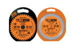 Patented circular saw blade carrying cases