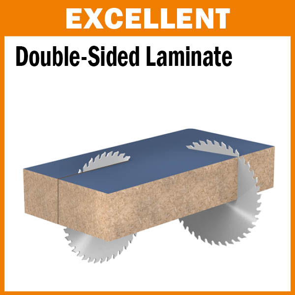 Industrial Chromed Double Sided Laminate/Melamine Blades