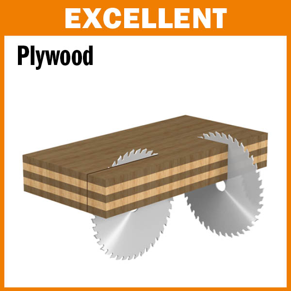ITK Plus plywood finish saw blades