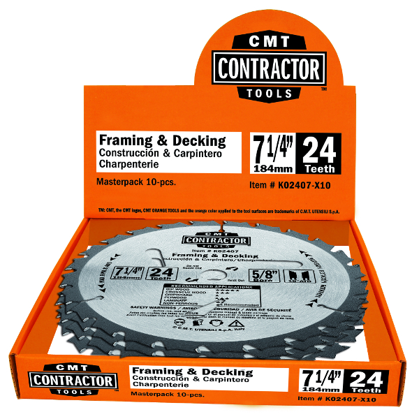 ITK Contractor finishing circular saw blades