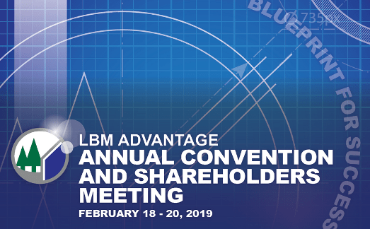 CMT & LBM Advantage 2019
