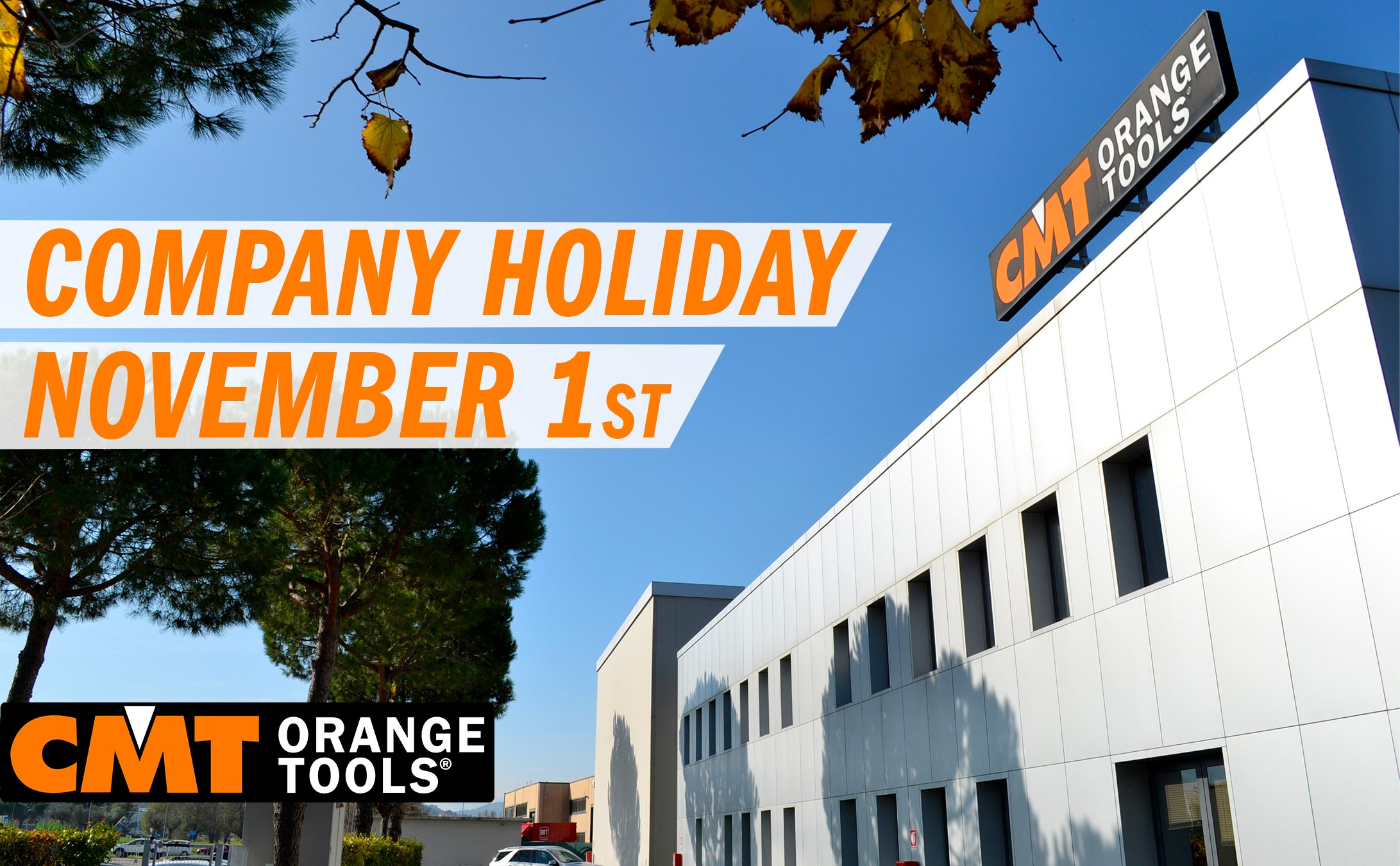 Company Holiday November 1st