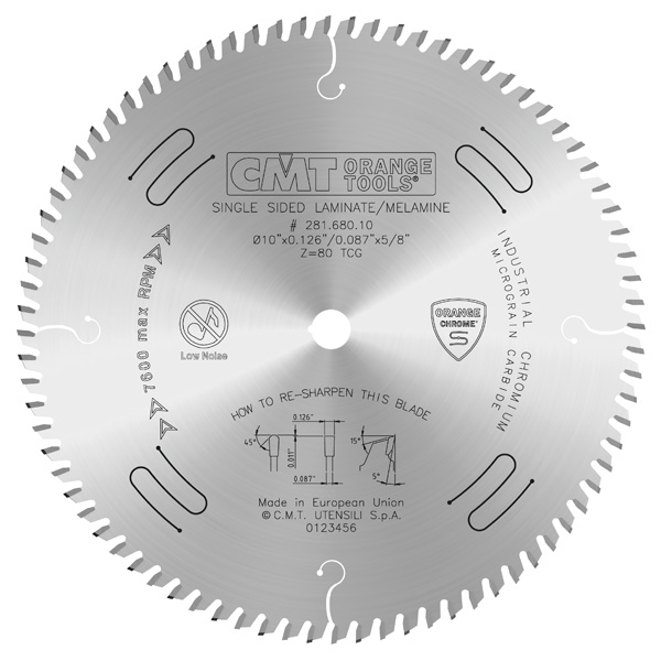 Industrial XTreme long life circular circular saw blades for laminates