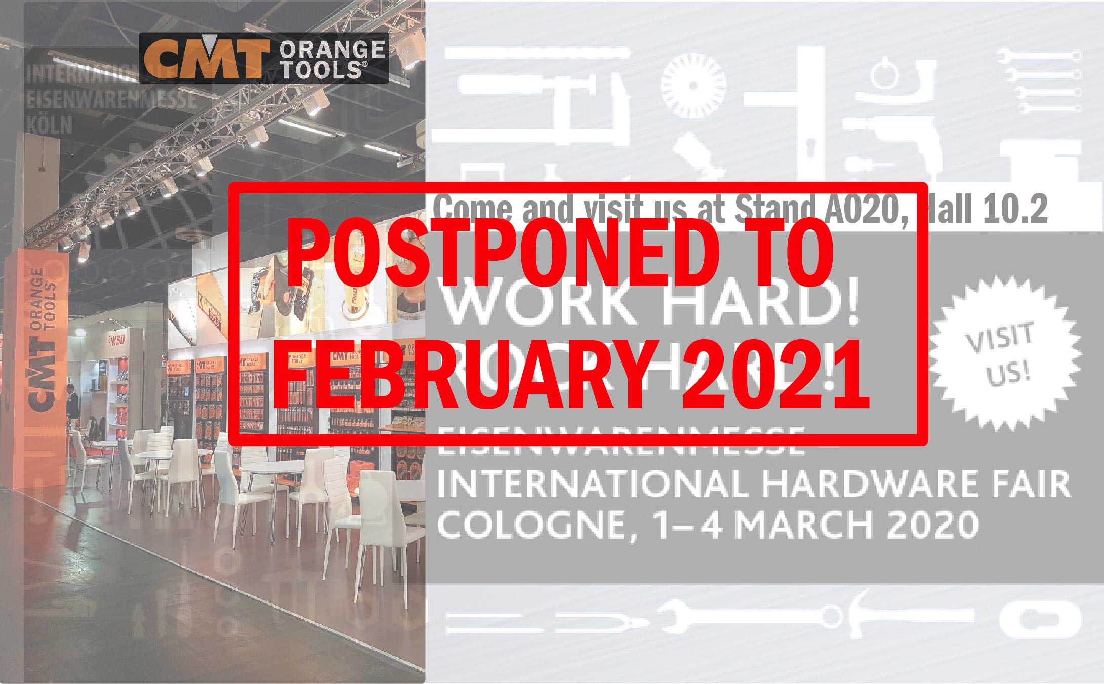 EISENWARENMESSE 2020 - Cologne, Germany - POSTPONED