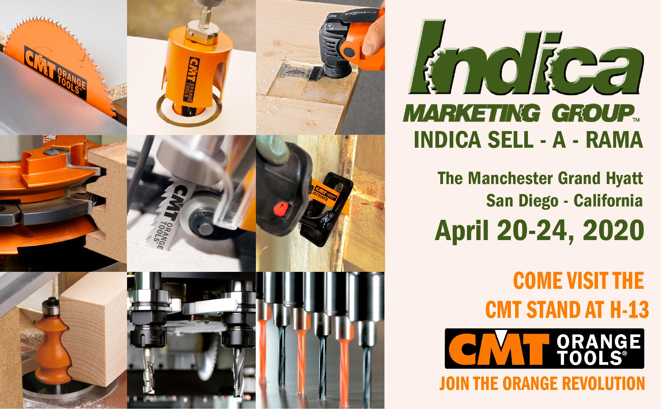 Indica Sell-A-Rama 2020 - April 20-24, 2020 - San Diego - California
